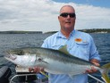 Stu Reid with Kingfish