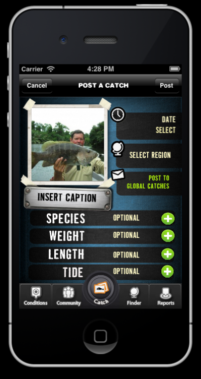 How to use the Fishabout iPhone App.