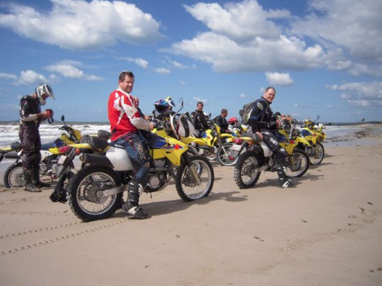 Bikes and the beach
