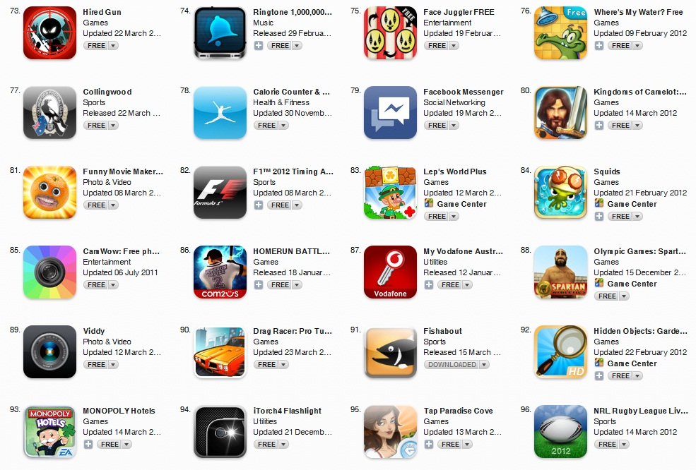 Download app store free apps games free games for Iphone picture apps free